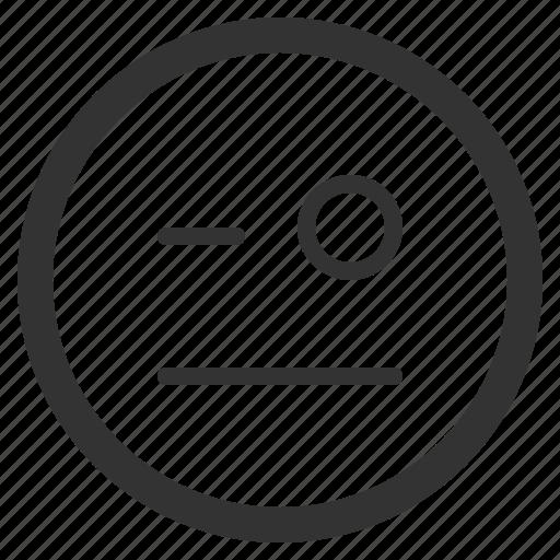 chat, emoji, emoticons, face, grumpy, sharpicons, texting icon