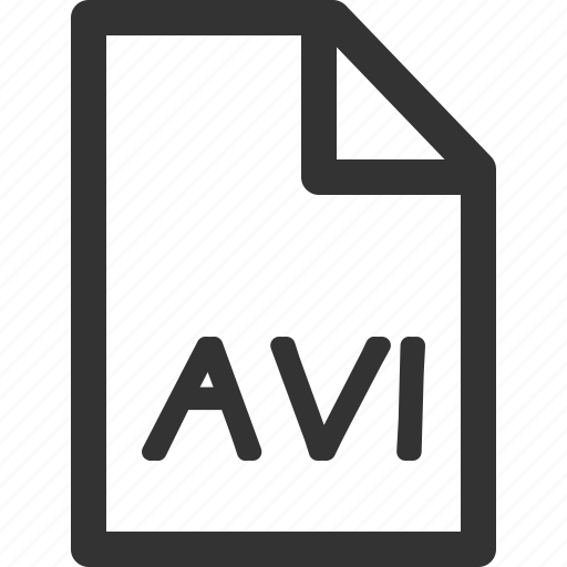avi, computer, data, file, formats, sharpicons, types icon