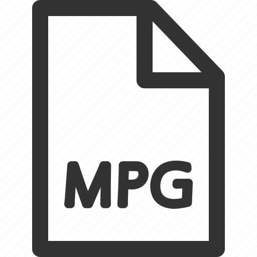 computer, data, file, formats, mpg, sharpicons, types icon