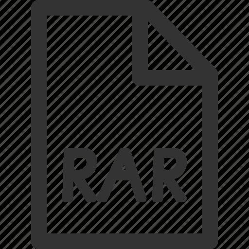 computer, data, file, formats, rar, sharpicons, types icon