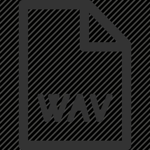 computer, data, file, formats, sharpicons, types, wav icon