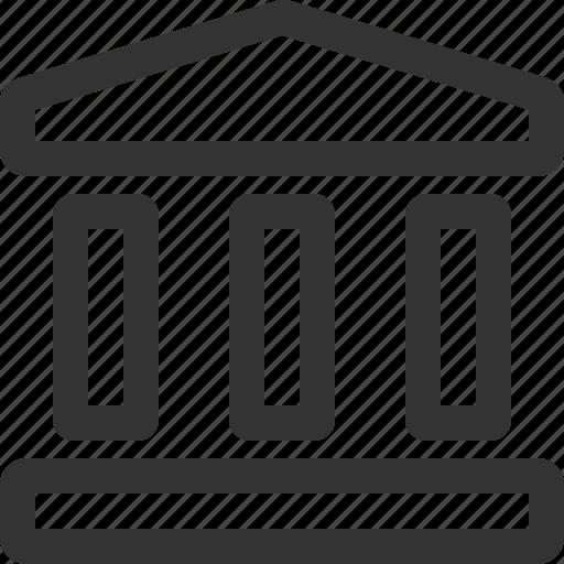 bank, business, commerce, economics, finance, sharpicons icon