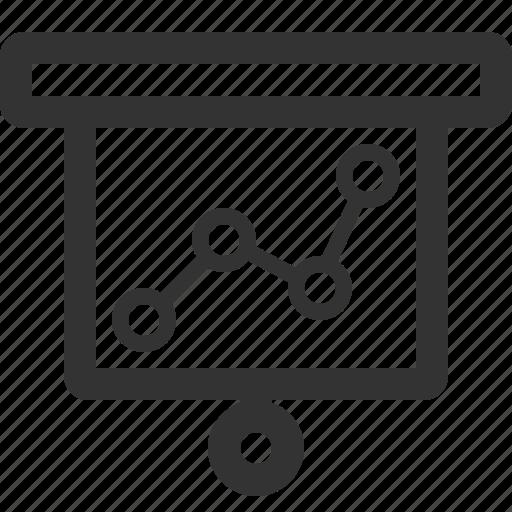 business, charts, commerce, economics, finance, sharpicons icon