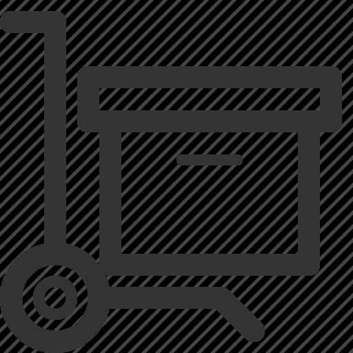 box, business, commerce, economics, finance, load, sharpicons icon