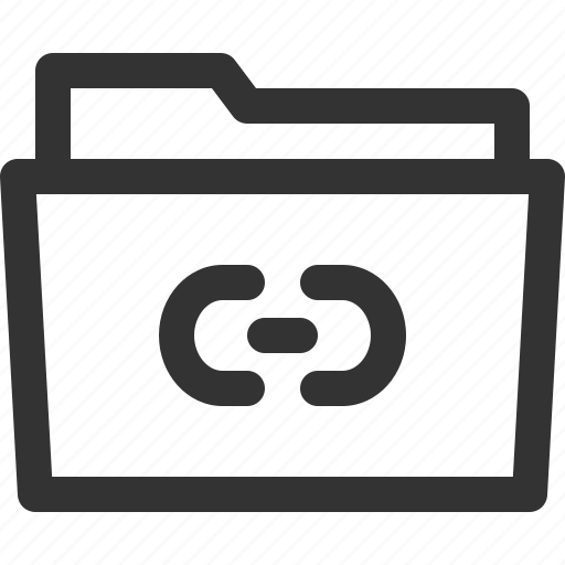 computer, digital, file, folder, hyperlink, pc, sharpicons icon