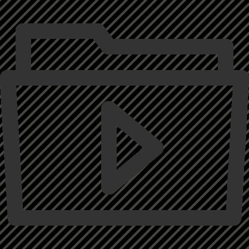 computer, digital, file, folder, multimedia, pc, sharpicons icon