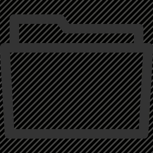 computer, digital, file, folder, open, pc, sharpicons icon