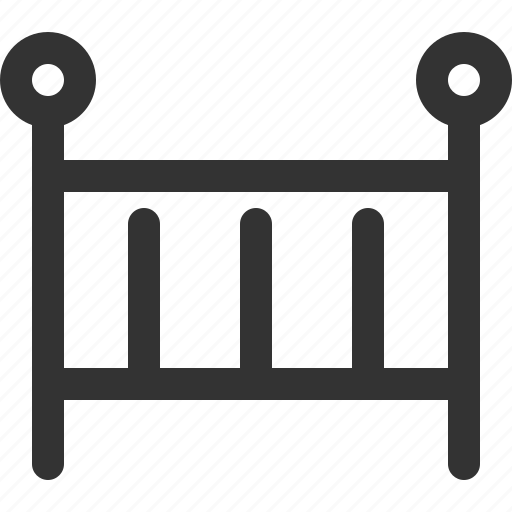 appliance, baby, bed, furniture, goods, home, sharpicons icon