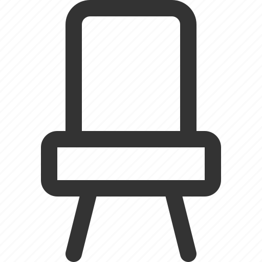 appliance, chair, furniture, goods, home, sharpicons icon