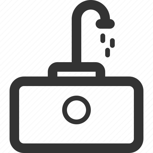 appliance, furniture, goods, home, sharpicons, sink icon