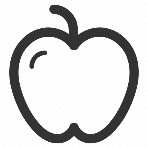 apple, athlete, body, fitness, health, sharpicons icon