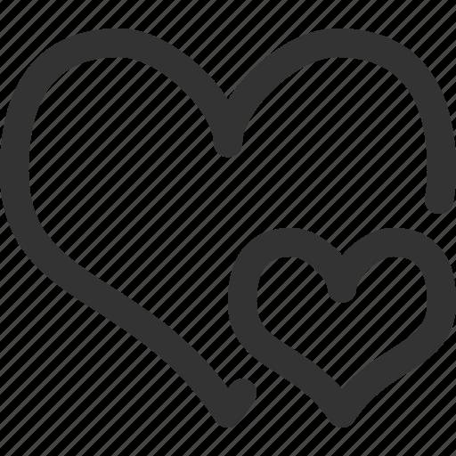 anatomy, body, hearts, human, medicine, sharpicons icon