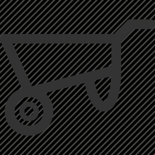 agriculture, farming, industry, production, sharpicons, wheelbarrow icon