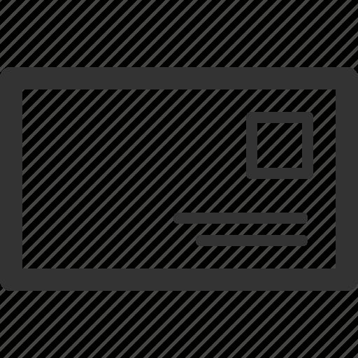 communication, details, letter, message, post, sharpicons icon