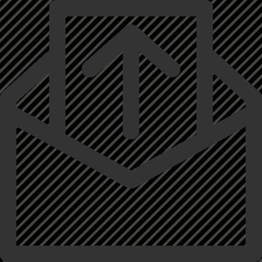 communication, letter, mail, message, post, send, sharpicons icon