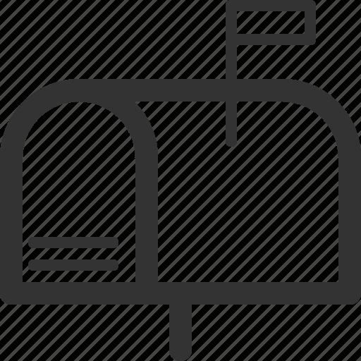 box, communication, letter, message, post, sharpicons icon