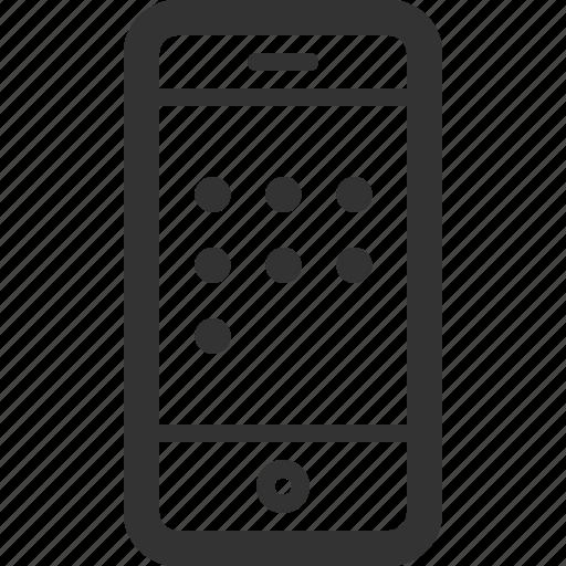 battery, communication, dial, phone, sharpicons, smart, telephone icon