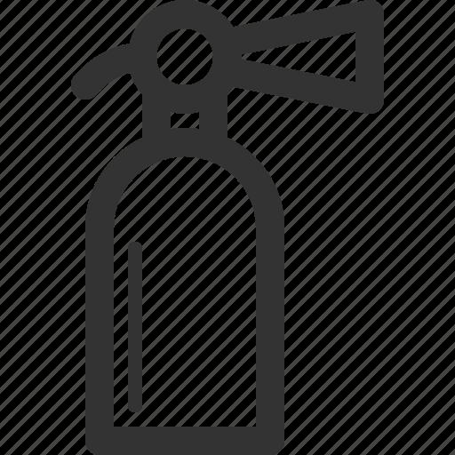 defense, extinguisher, fire, insurance, security, sharpicons, surveillance icon