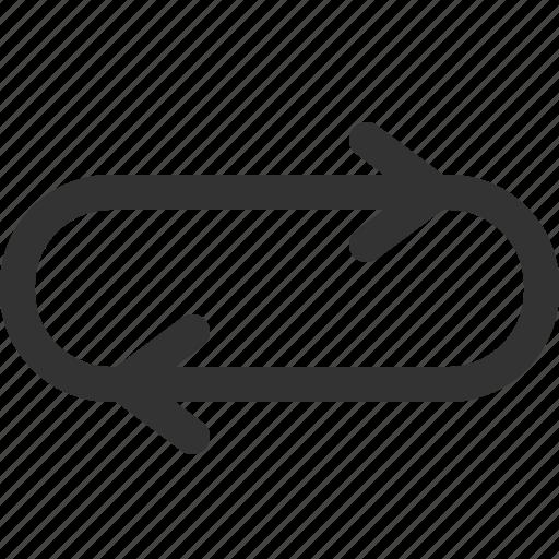 arrows, cursor, hint, indicator, repeat, sharpicons, signs icon