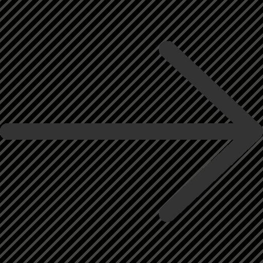 cursor, hint, indicator, pointer, right, sharpicons, signs icon