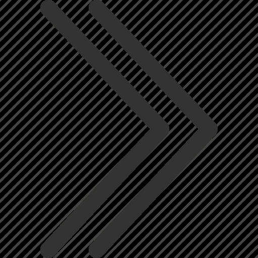 arrow, big, cursor, indicator, right, sharpicons, signs icon