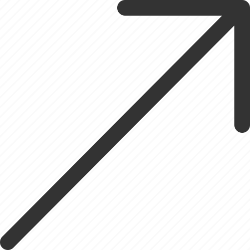 corner, cursor, hint, indicator, right, sharpicons, signs icon