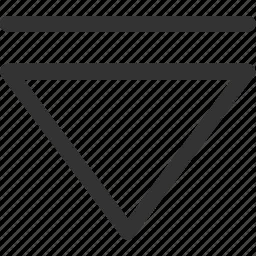 cursor, down, hint, indicator, sharpicons, signs, step icon