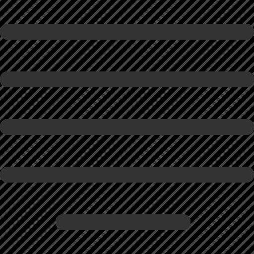 align, center, justify, sharpicons icon