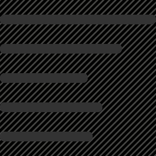 align, right, sharpicons icon
