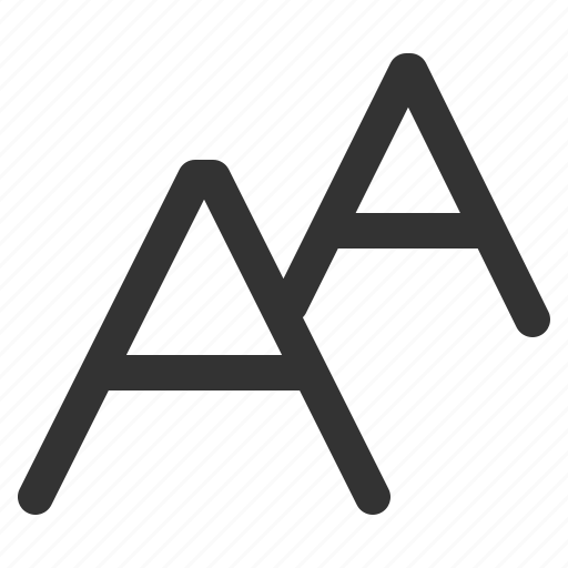 align, letter, sharpicons icon