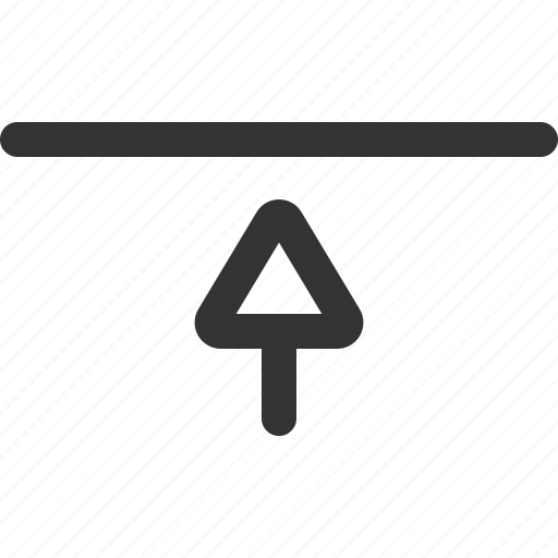 align, sharpicons, top, vertical icon