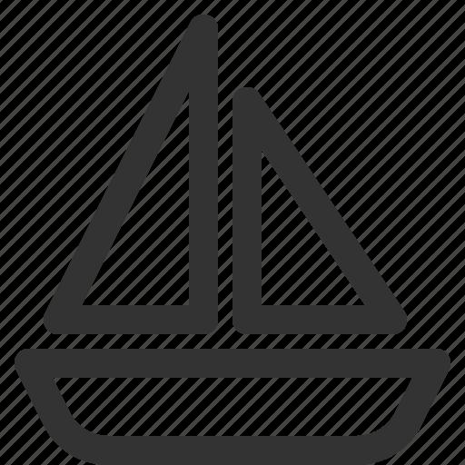 boat, sharpicons, tour, tourism, travel, trip icon