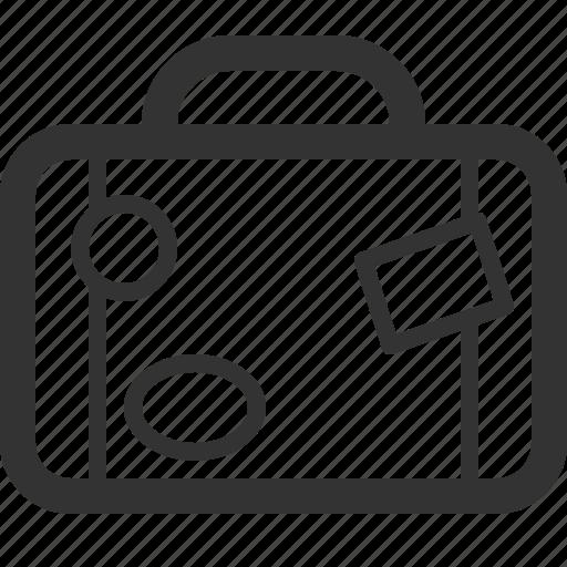 bag, sharpicons, tour, tourism, travel, trip icon
