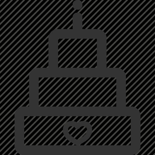 bride, cake, marriage, sharpicons, valentine, wedding icon