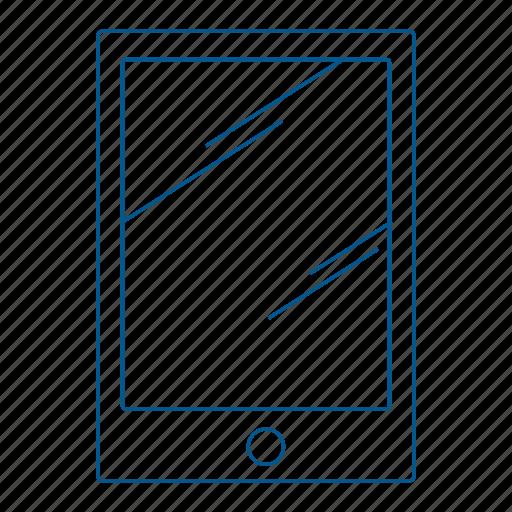 book, e-reader, ereader, novel, read, screen icon