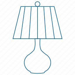 bulb, lamp, library, light, read, shade icon