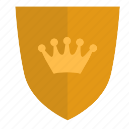 army, force, king, shield icon