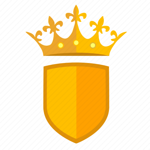 force, kingdom, queen, royal, security, shield icon