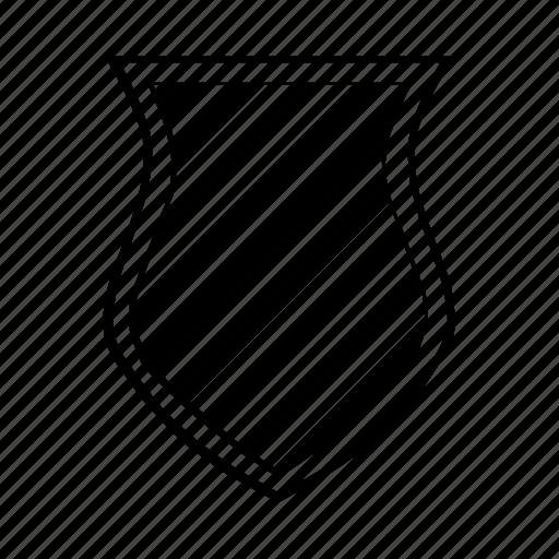 armor, heraldry, medieval, shield, stripe, weapon icon