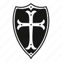 arms, coat, decoration, defence, medieval, security, shield icon