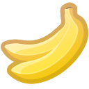bananas, dessert, food, sweet, tropical icon