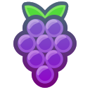 berries, grapes, eating, food, healthy icon