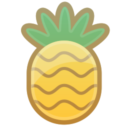 food, fruit, pineapple, sweet, tropical icon