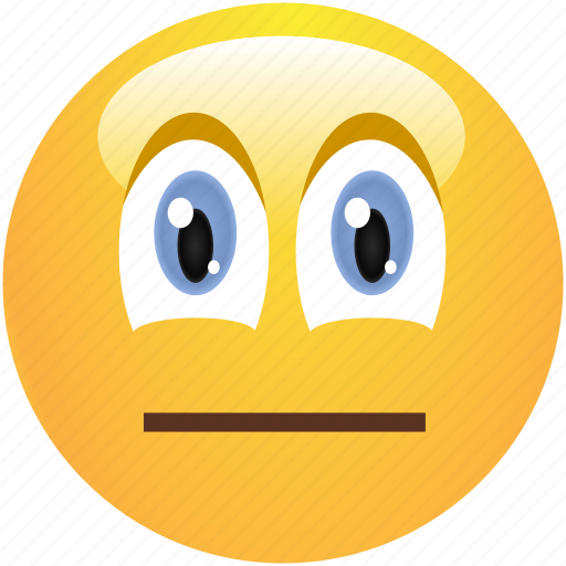 emoticon, emotionless, neutral, pokerface, smiley icon