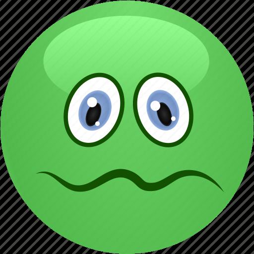 emoticon, feeling bad, smiley, vormit icon