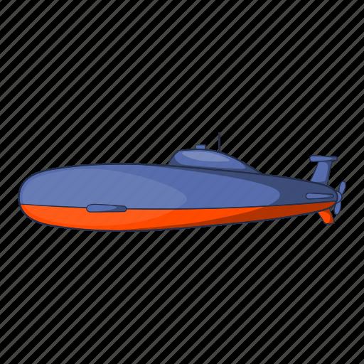 cartoon, illustration, object, sea, sign, submarine, underwater icon