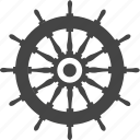 ship, transport, wheel, boat