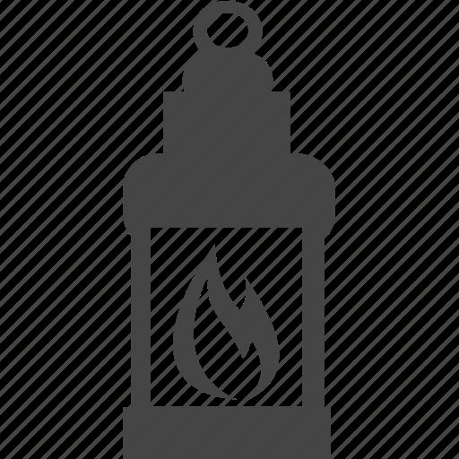 fire, lantern, lighthouse, sea icon