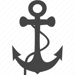 anchor, ship, traffic, transport icon