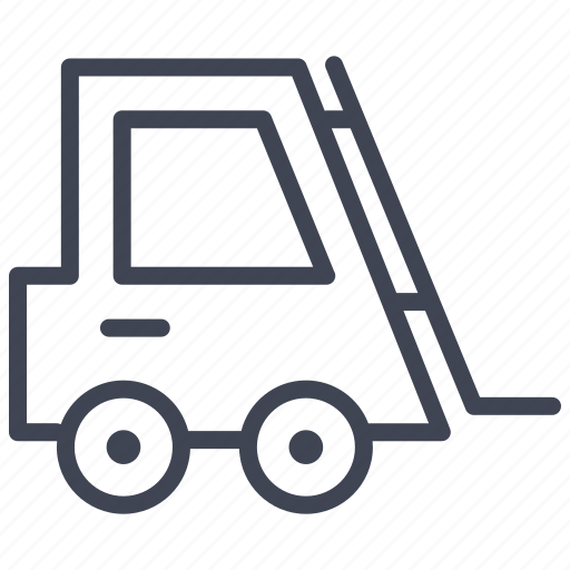 delivery, fork, forklift, lift, shipping, truck icon